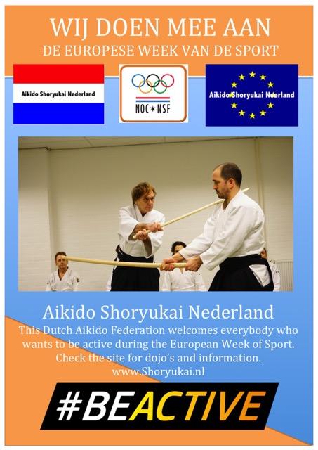 Aikido - Europese Week vd Sport