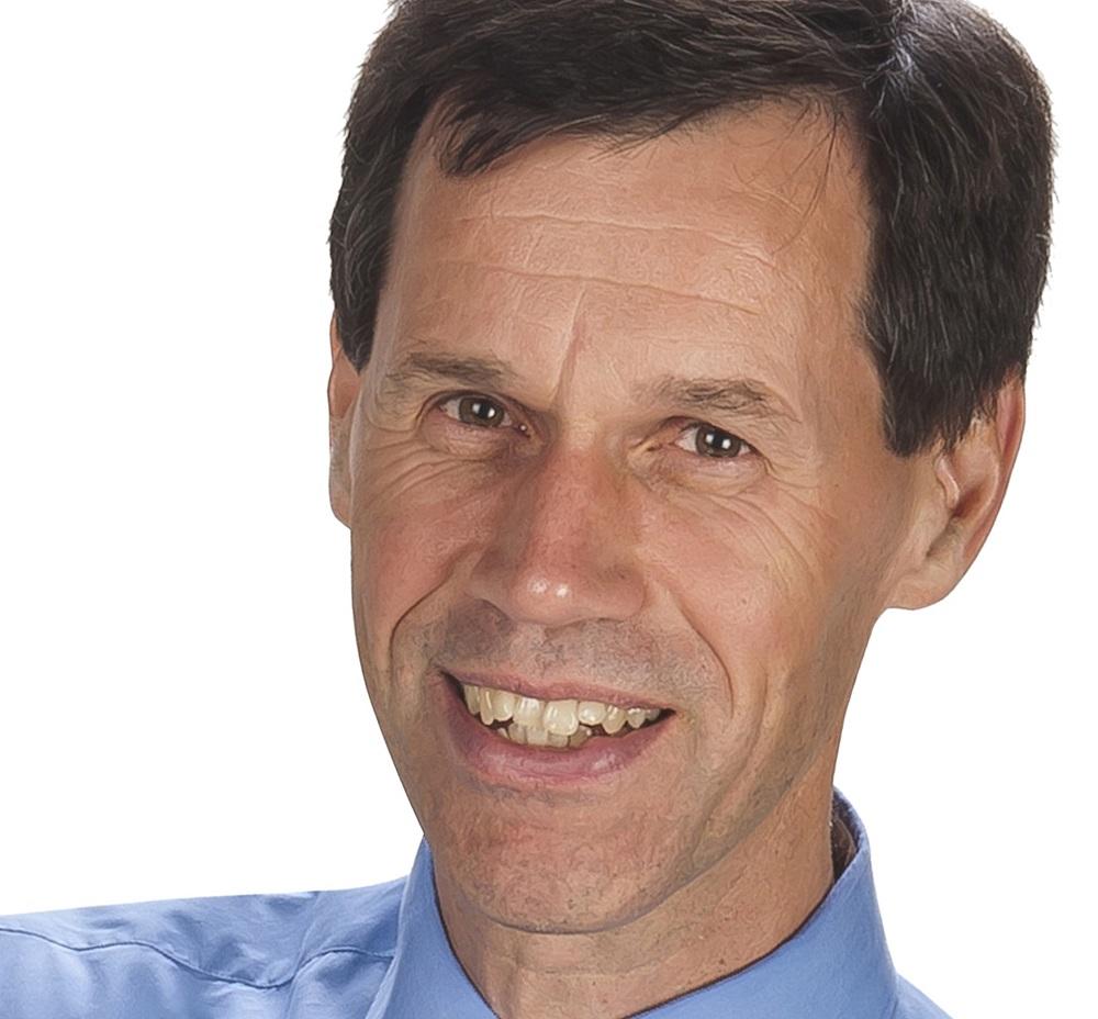 Iwan Blankers - vertrekkend penningmeester ASN