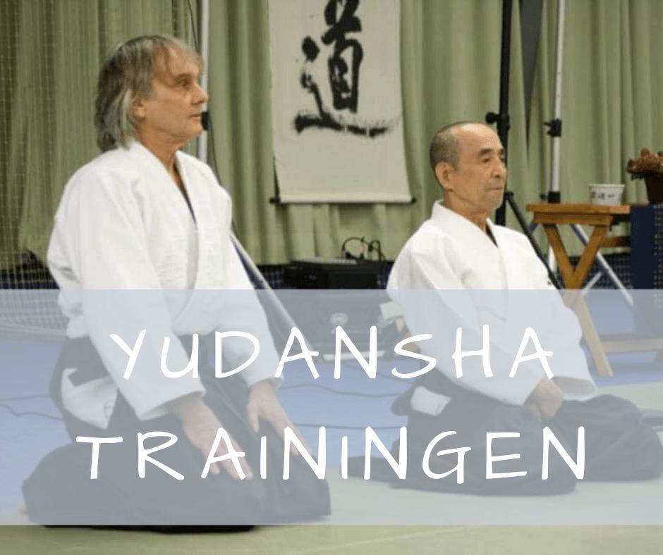 Yudansha trainingen Aikido Shoryukai Nederland - 1e helft 2020